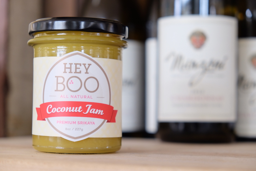 Hey Boo All Natural Coconut Jam
