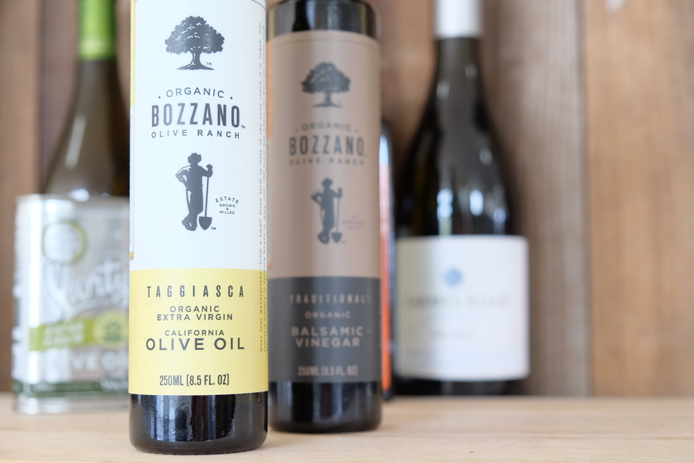 Bozzano Organic Extra Virgin Olive Oil and Balsamic Vinegar