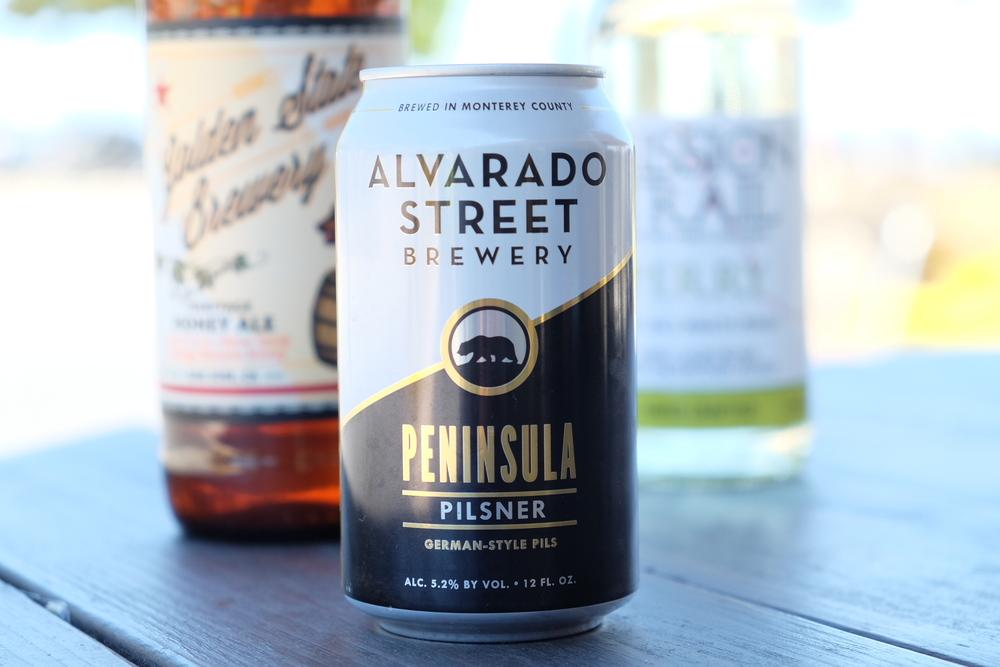 Alvarado Street Peninsula Pilsner is A-Ok!