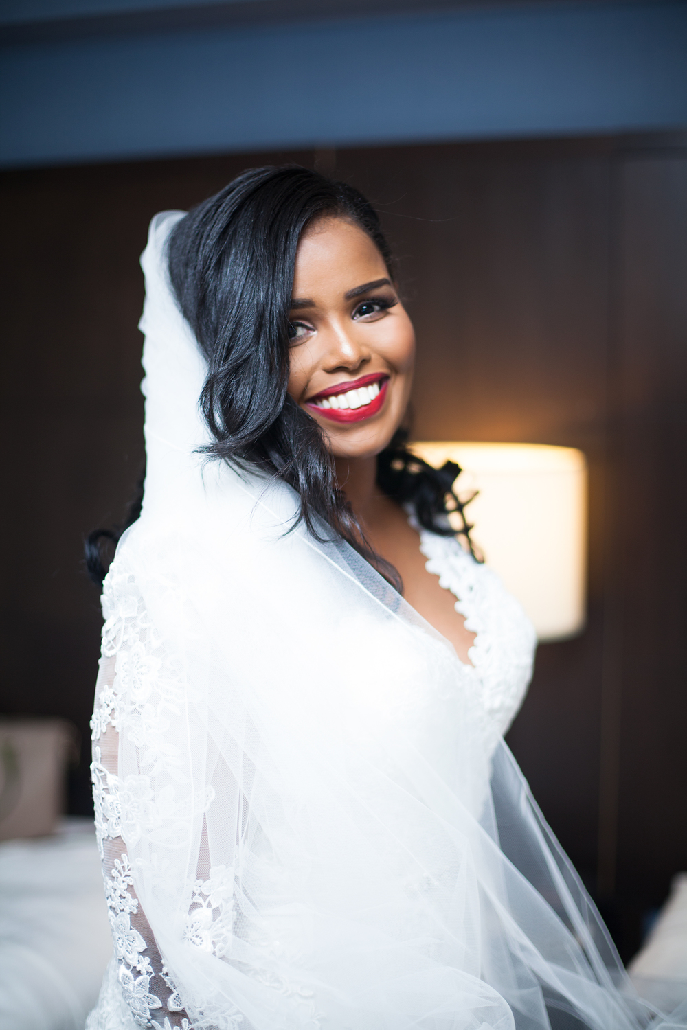 beautiful bride Karimah Gheddai photography