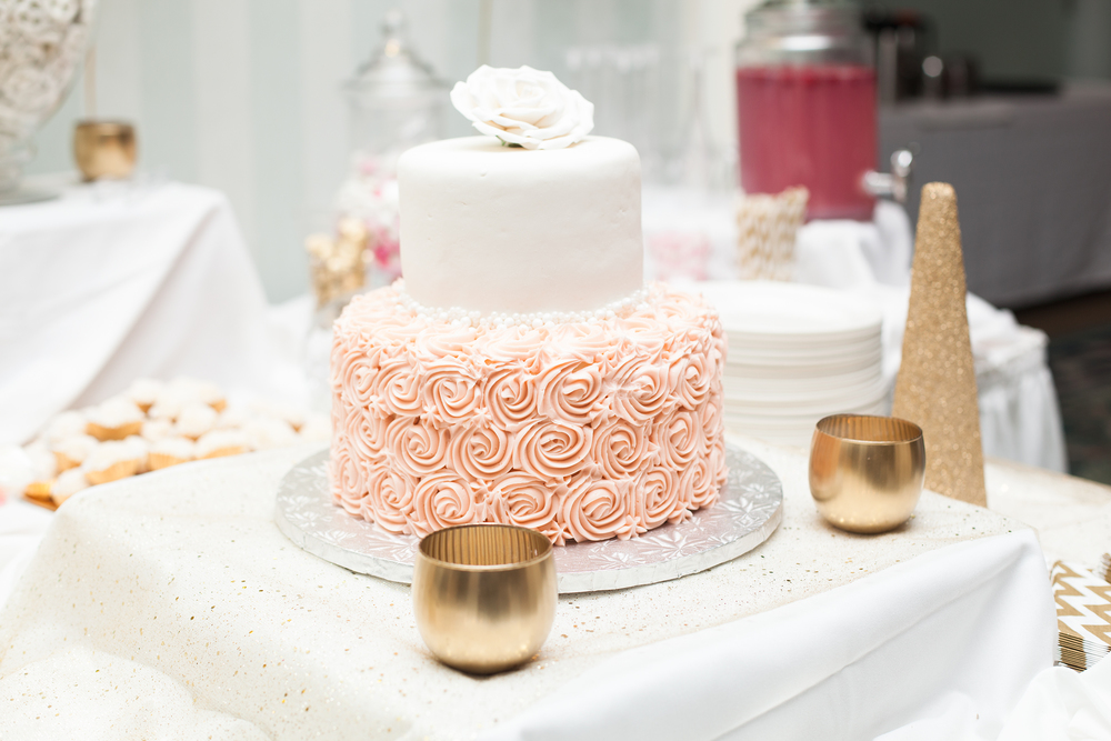 Karimah Gheddai Photography Bridal Shower Cake