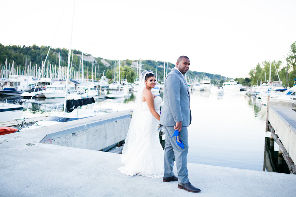 Bluffers Park Marina Wedding