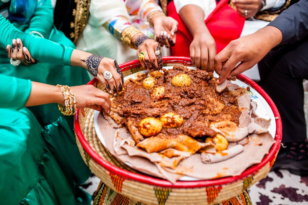 Wedding Details Red Eritrean Habesha Arab Wedding Toronto Scarborough Convention Centre Blog Markham Rami Decor Grand Stage Ethiopian Canada Ontario Photographer Karimah Gheddai Melse Werki Jewllery Injera Henna Tsebhi 2018