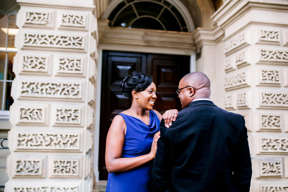 Engagement Photography Toronto Kenyan Kenya Osgoode Hall Toronto Downtown location Photographer Elegant photo ideas Ontario Canada African Black Couple Best Photographer