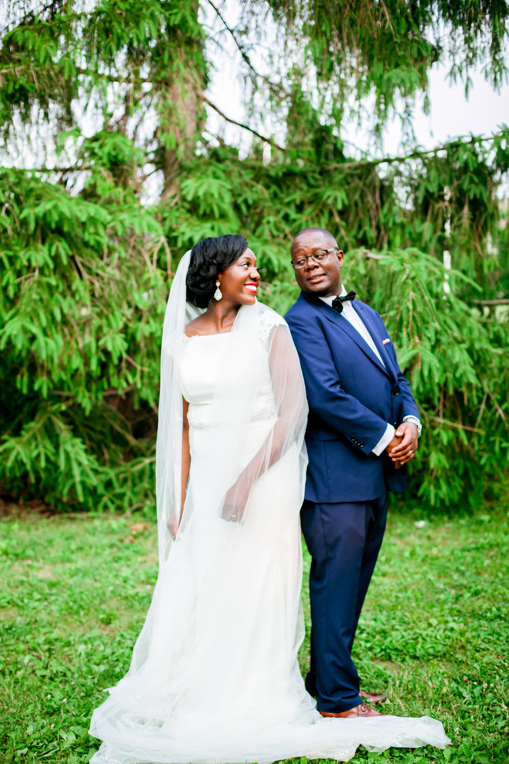 Wedding Photography Kenyan Canadian Photographer Karimah Gheddai Tyndale University College African Black couples Portraits Blue Suit International Multicultural Ontario Toronto Canada Groom Couple Posing ideas
