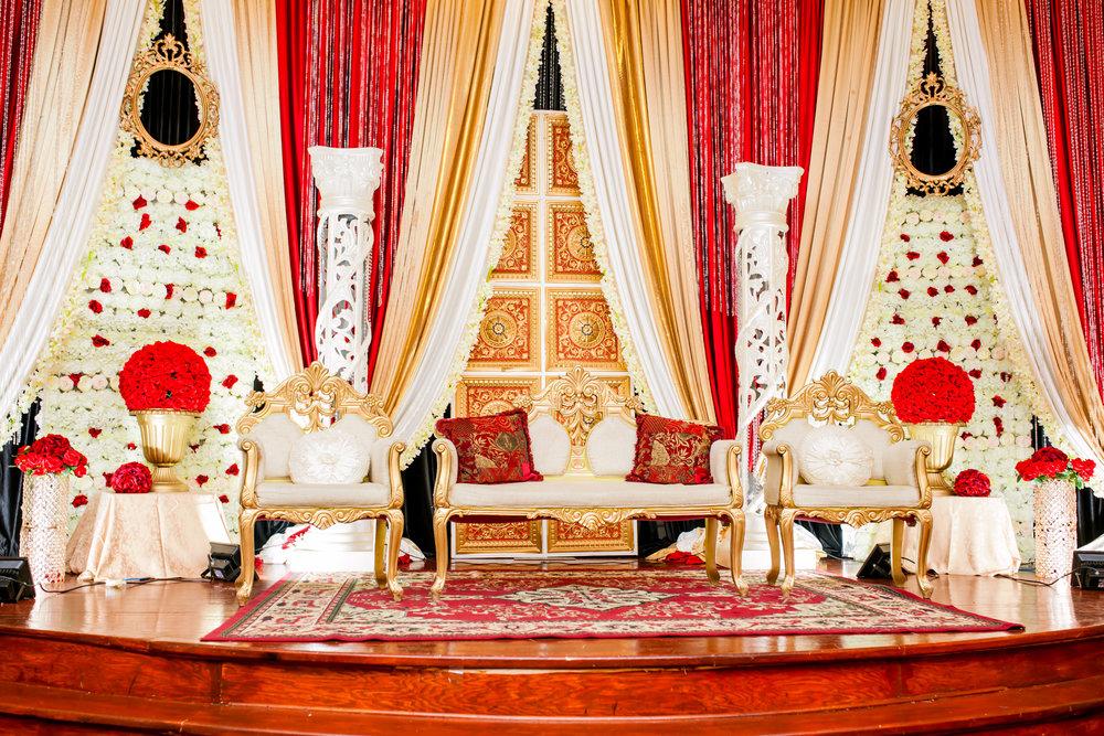Brampton Wedding Photographer Toronto Indian Mississauga Pakistani Red Decor Decor company styled shoot inspiration Lavish Dulhan South Asian Brides Nikkah Chandni Grand