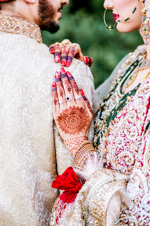 Brampton Wedding Photographer Toronto Indian Mississauga Pakistani Red Decor Decor company styled shoot inspiration Lavish Dulhan South Asian Brides Nikkah Chandni Grand Dubai Red