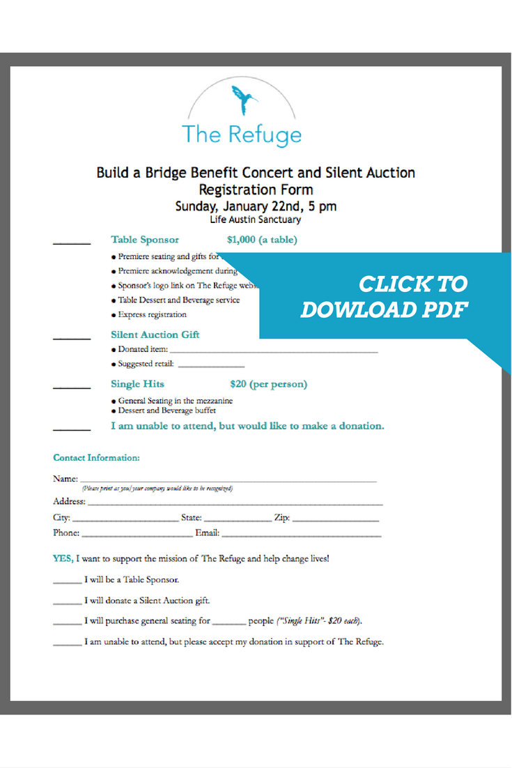 Click here to download PDF registration form.
