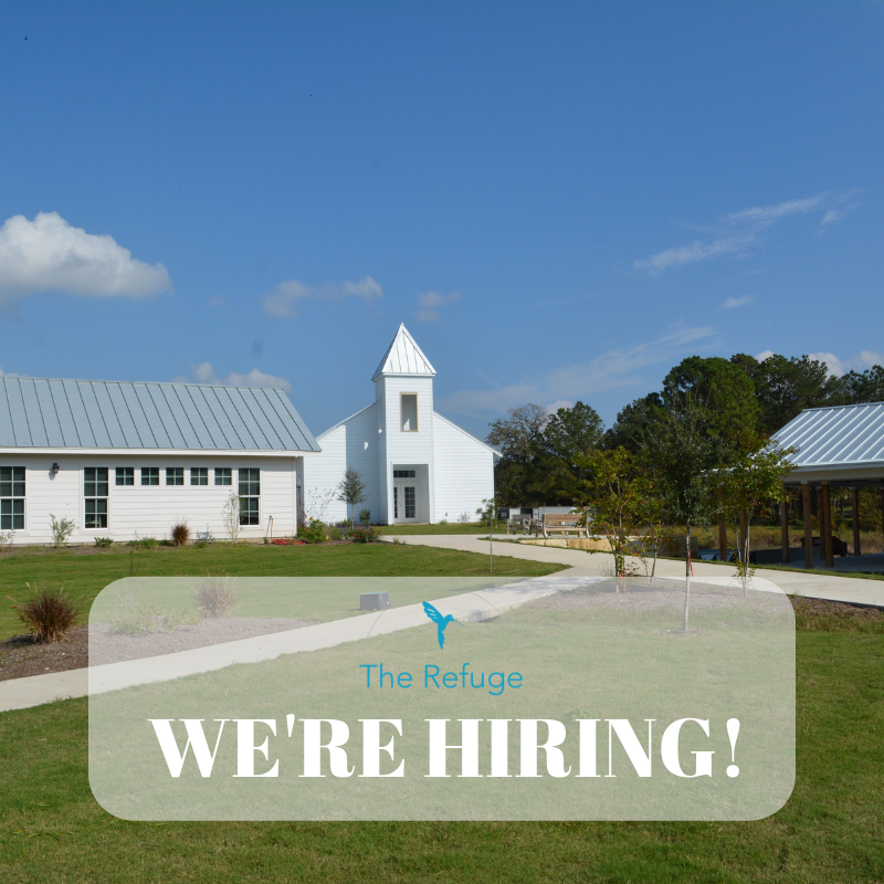 Job openings at The Refuge Ranch.