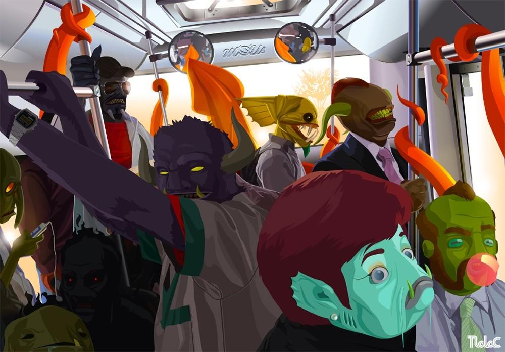 El Metrobus  Eduardo Corral '14