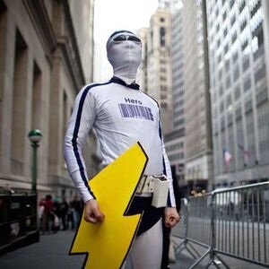 Superheroes vs. Wall St.