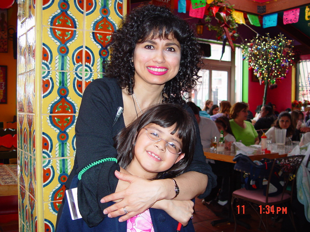 Alyssa with Godmother.JPG
