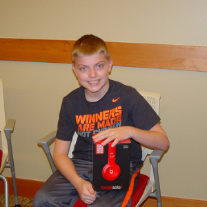 Name: Kody Age: 12 Hometown: Knox, IN Gift: Red Beats Headphones  Read more...