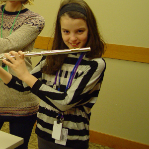 Name: Andra Age: 9 Hometown: Saline, MI Gift: Brass Flute  Read more...