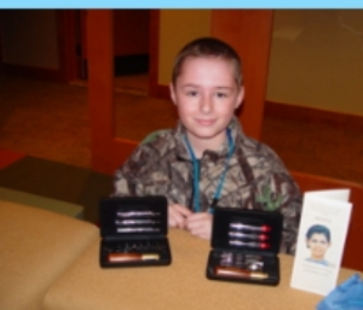 Name: Robert   Age: 12   Hometown: Grand Blanc, MI    Gift:  Wood Carving Set   Read more...