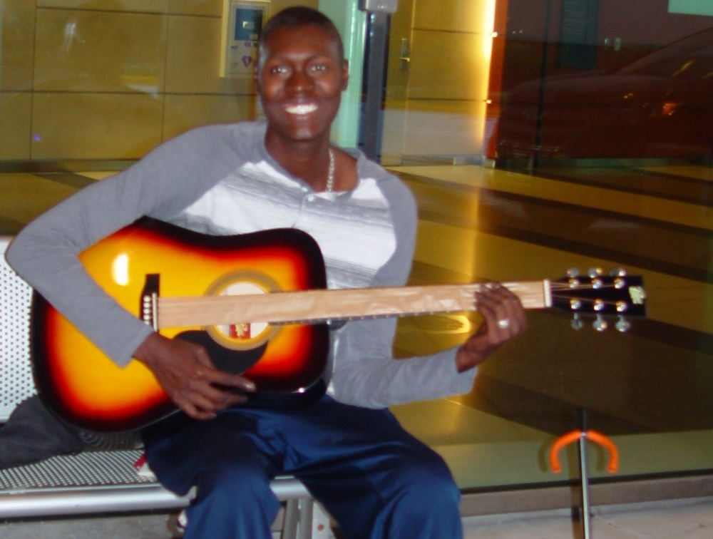 Name:  Rashied Age:  26 Hometown:  East Chicago, IN Gift:  Acoustic Guitar   Read more...