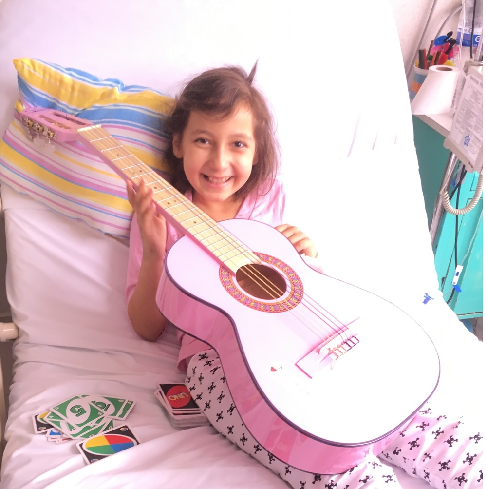 Name:  Nicole Age:  10 Hometown:  México City, México Gift:  Pink Acoustic Guitar  Read more...