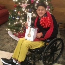 Name:  Max   Age:  12   Hometown: Miami, FL   Gift:  Dr Dre Gold Beats   Read more...
