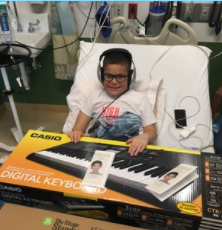 Name: Diego Age:  10 Hometown: Bollingbrook, IL Gift: Electronic Keyboard  Read more.