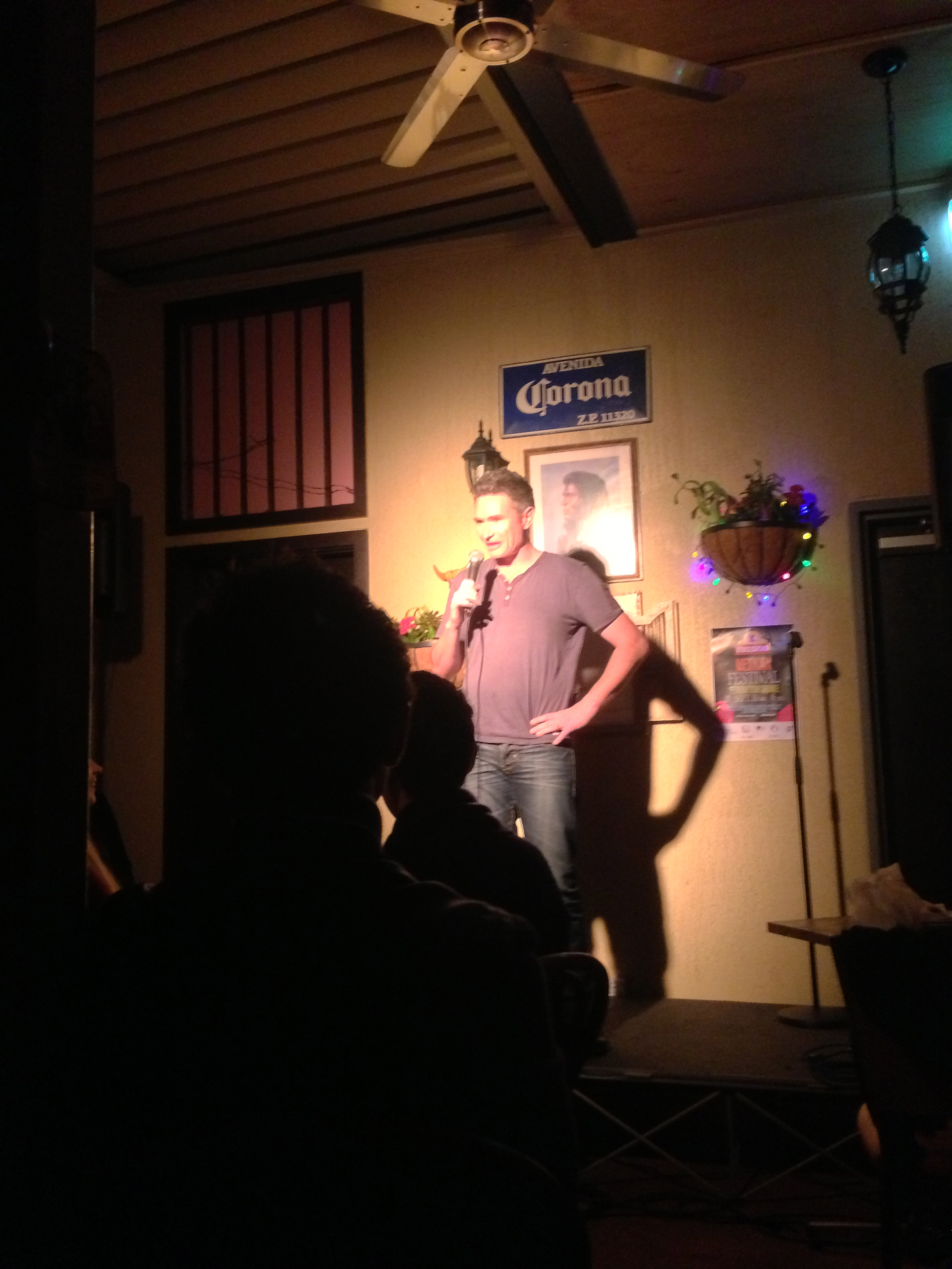 Dave Hughes opened the show as the first act up.