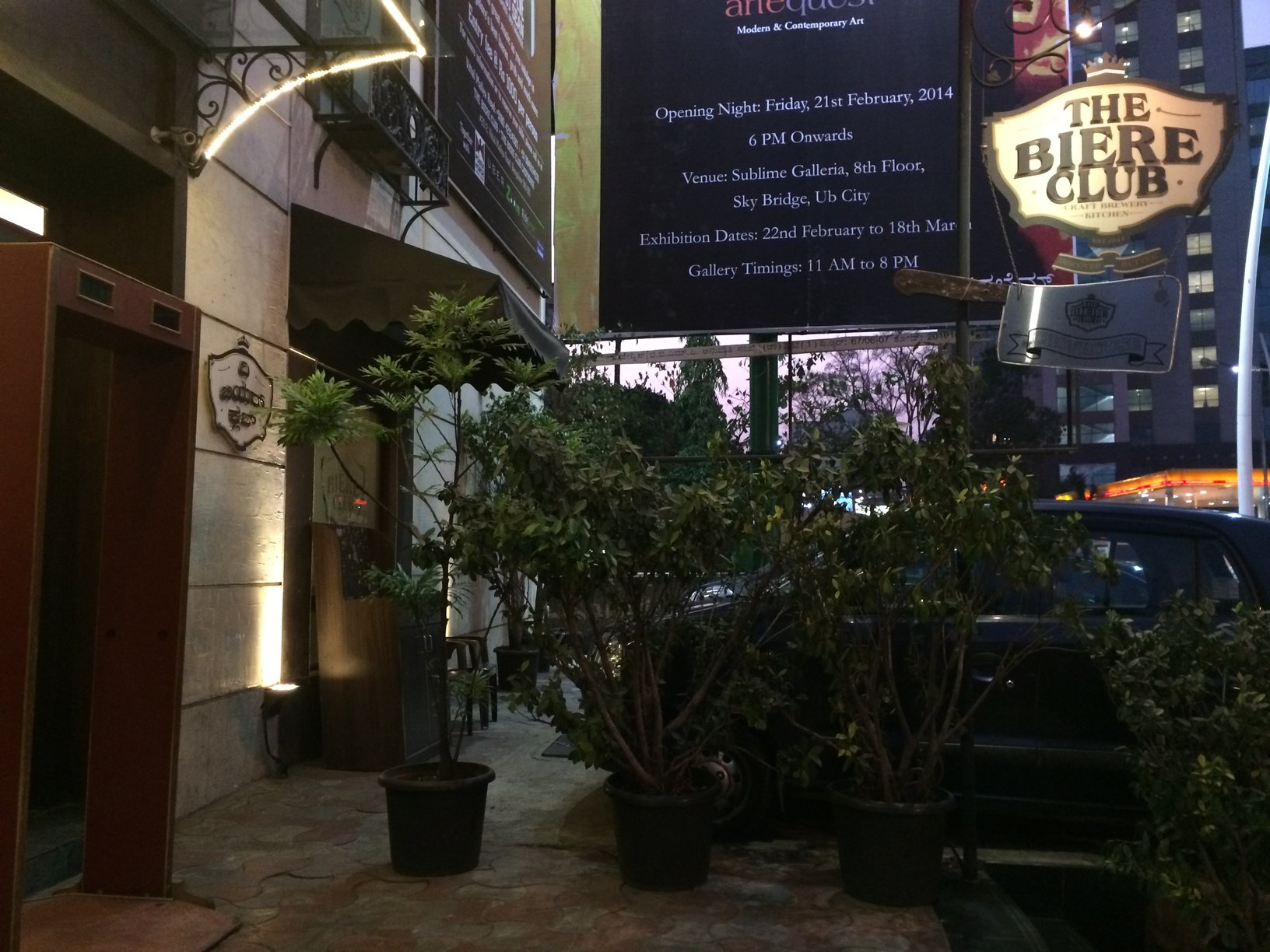 The Biere Club was the home to our heat in Bangalore.
