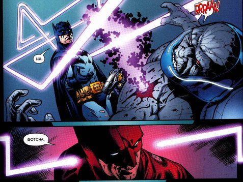 Batman takes down the ultimate evil.