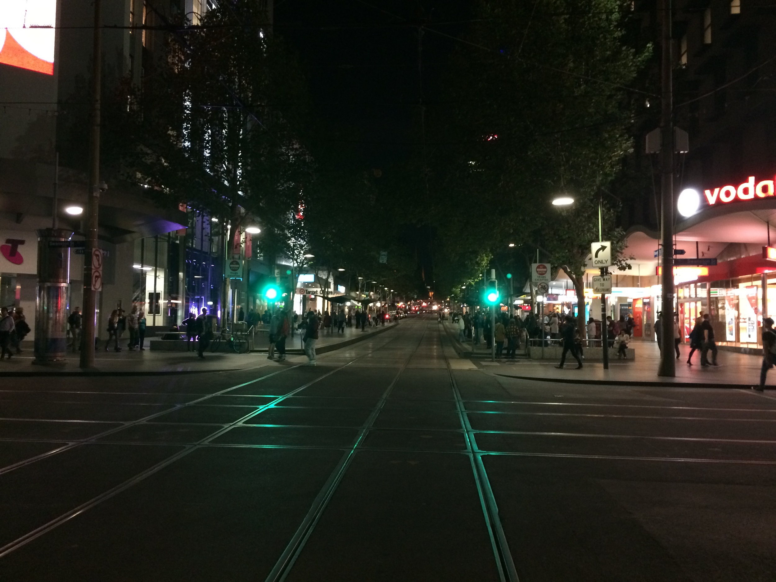 I'm loving the Melbourne nights so far.
