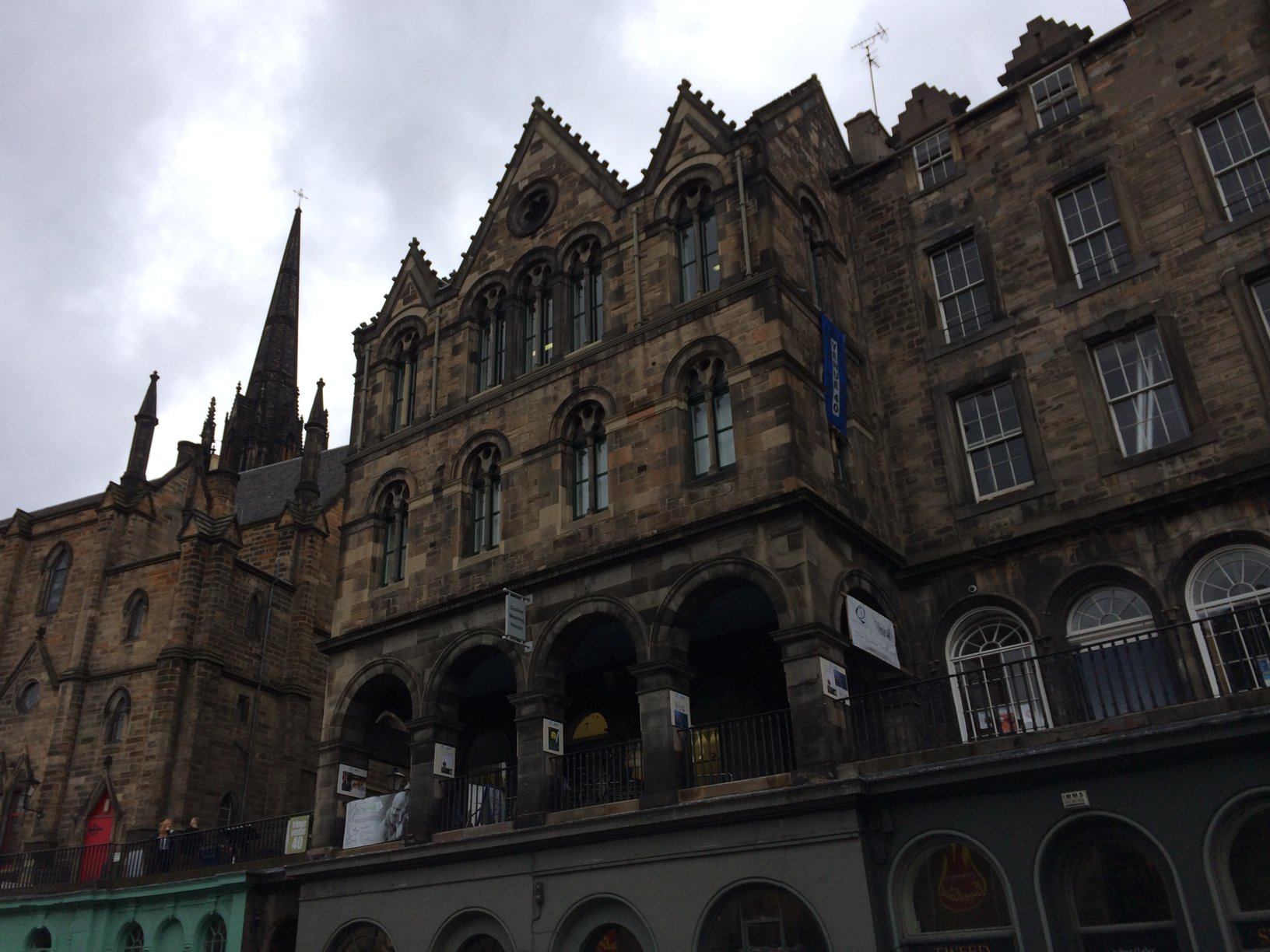 The gothic surroundings fit the mood of the Fringe at this point perfectly.