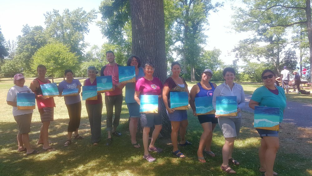 Art With a Spice with Child Welfare Training Partnership UVM