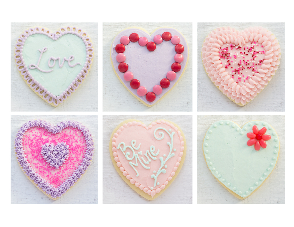 Crave Valentine Cookie Decorating Kit inspiration