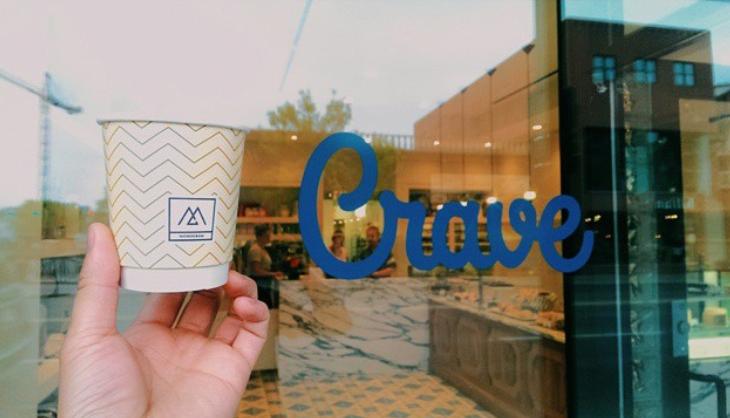 Monogram Coffee at Crave Kensington