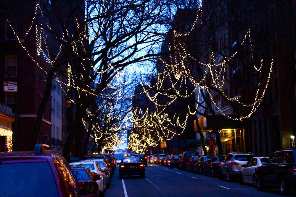 Lights on 55th