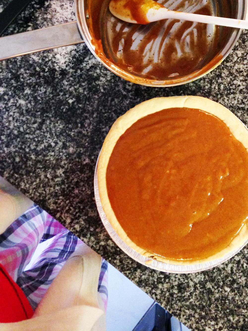 mom's pumpkin pie recipe