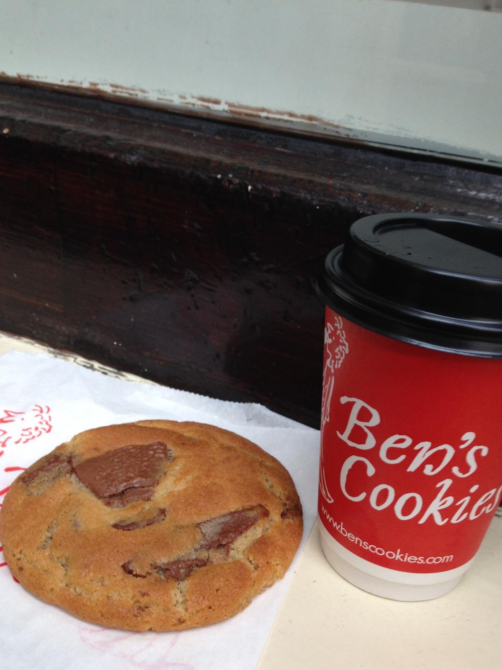 Ben's Cookies in Covent Garden