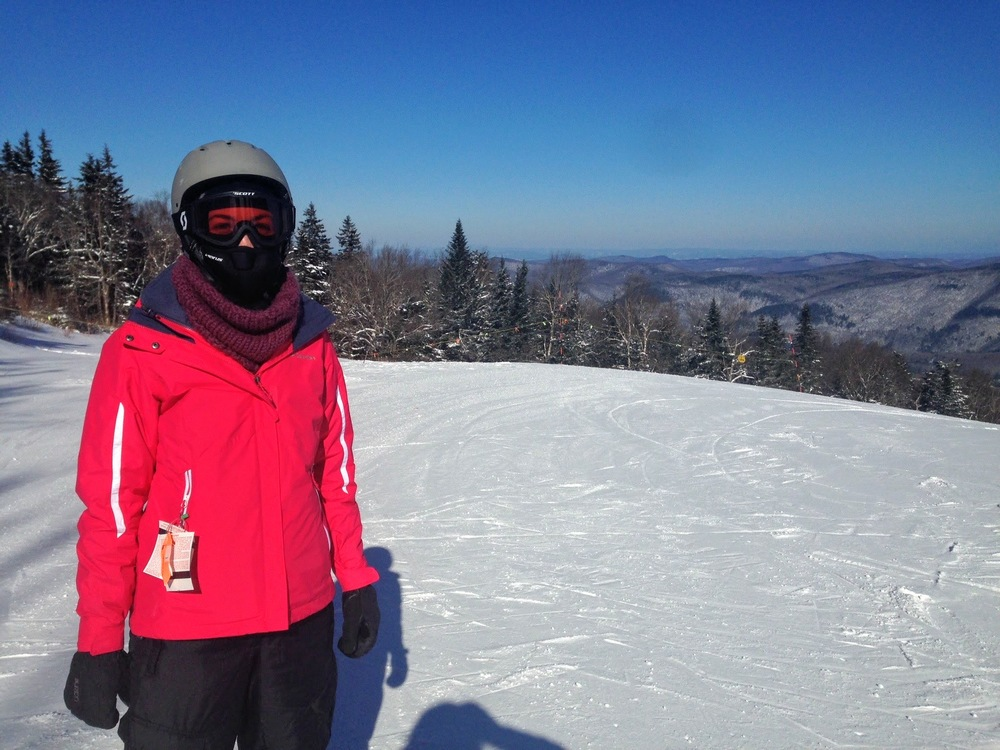 lol...I look like a poser, but I swear I'm on skis and my poles are on the ground somewhere.