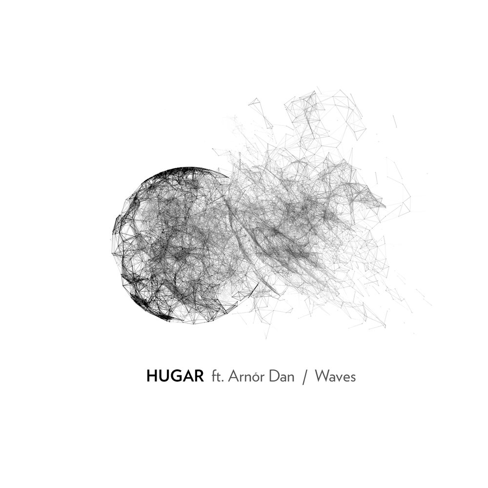 hugar waves feat. arnor dan single artwork.jpg