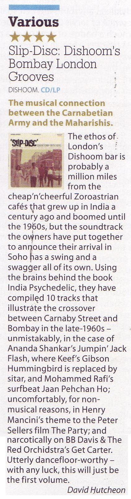 Slip Disc Dishooms Bombay Grooves Mojo January Issue 2016.JPG