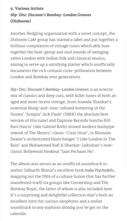 Slip Disc Dishooms Bombay Grooves Fact Magazine November 2015.jpg