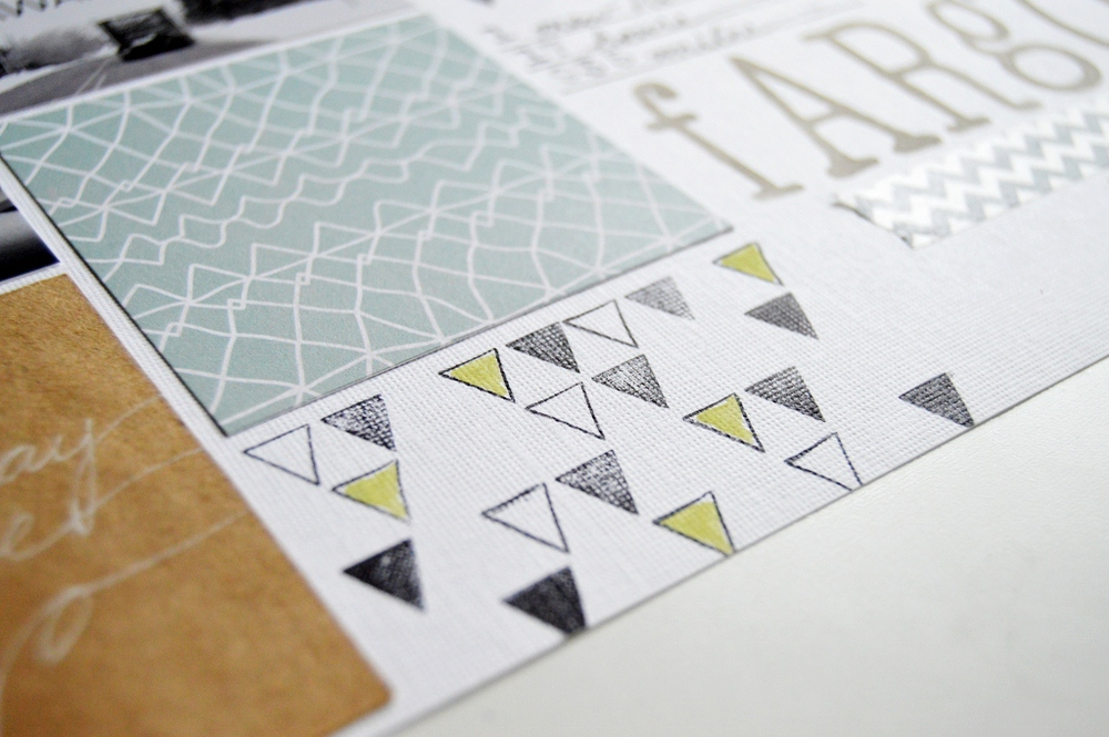 scrapbook stamp pattern