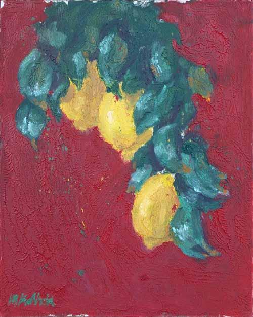 "Lemons 20x16"""