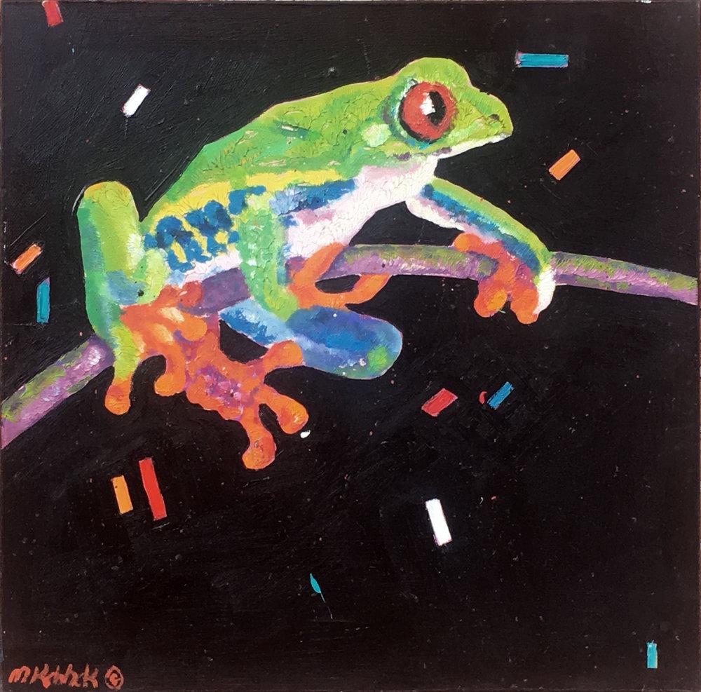 "Tree Frog 30x30"""