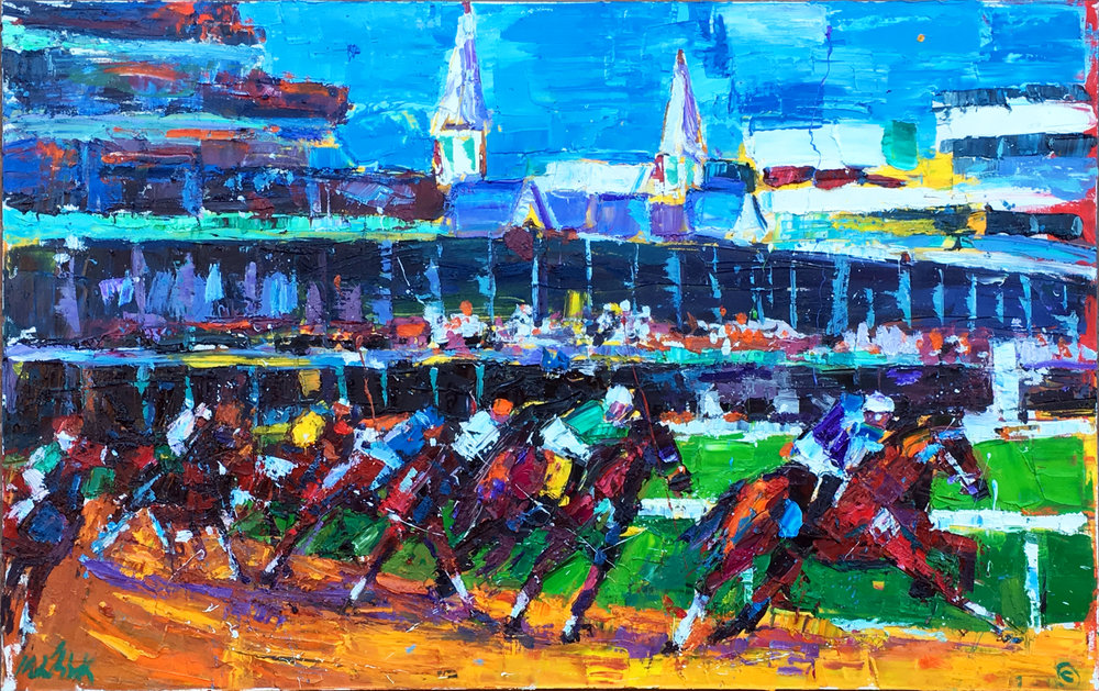 Kentucky Derby 40x60""