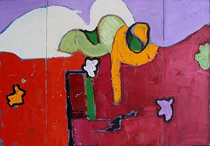 """Dream Triptych 30x44"""""""
