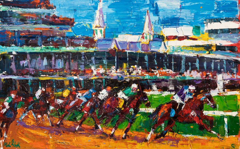 Kentucky Derby  36x72""
