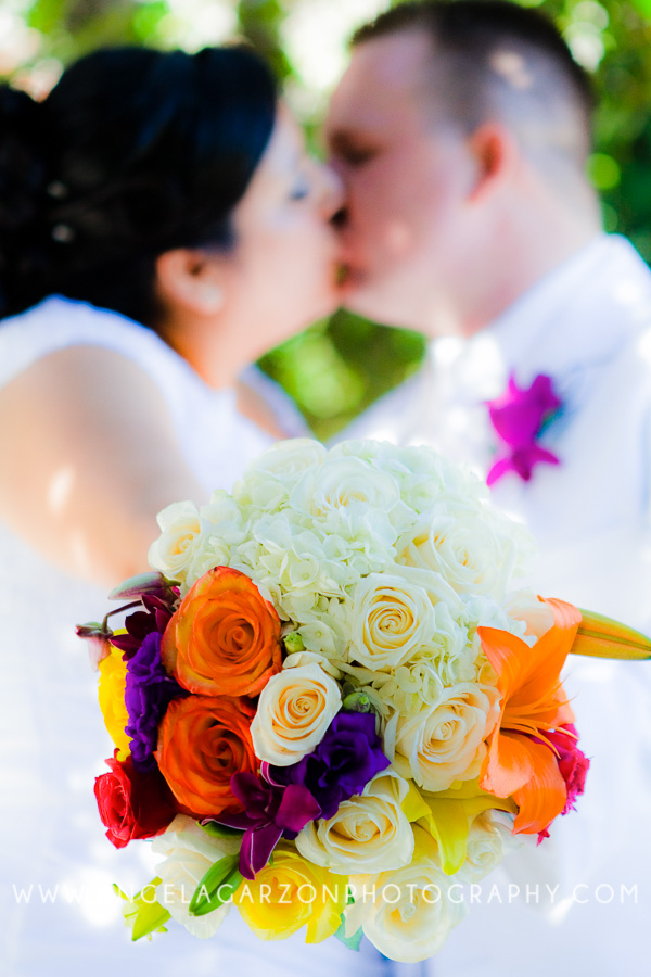 colorful-orange-white-yellow-purple-wedding-bouquet