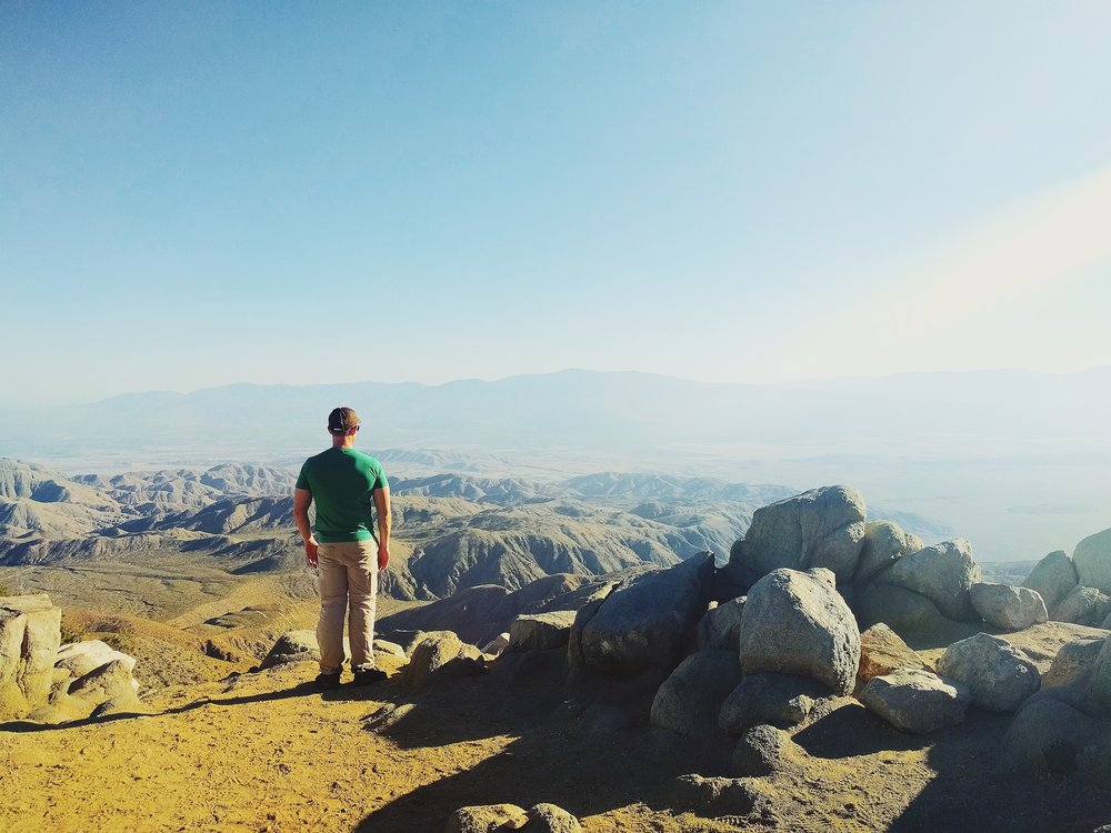 I mean, how amazing is this view?! Keys View, Joshua Tree