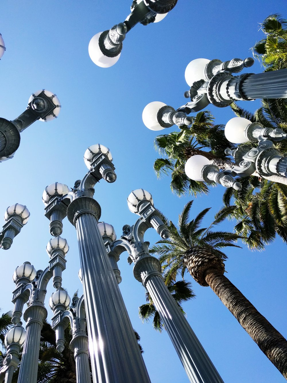 the lights! the lights! - Urban Lights by:by Chris Burden
