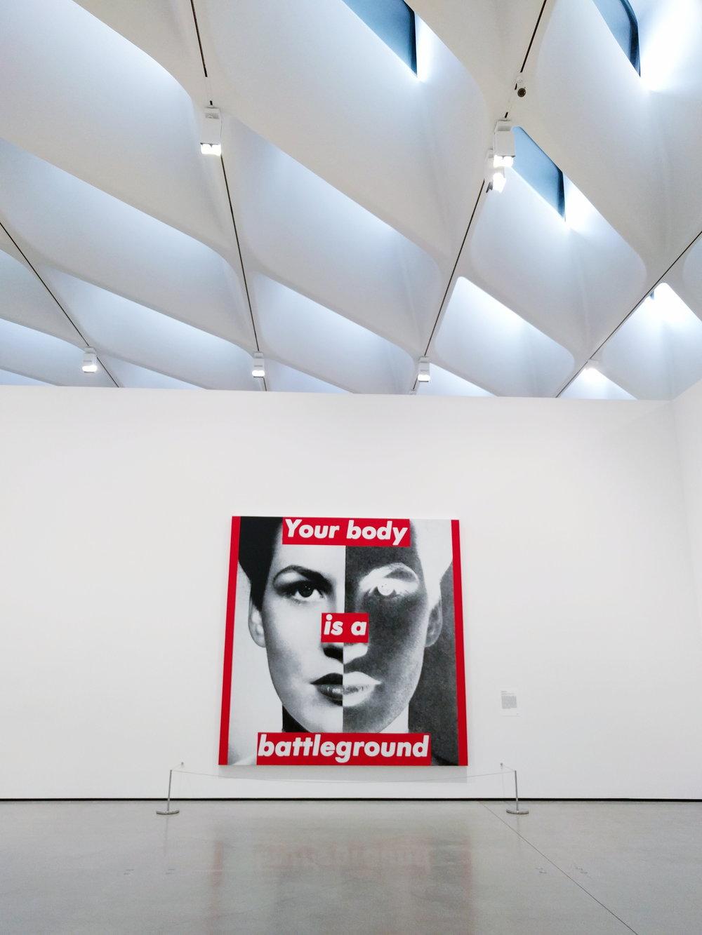 your-body-battleground-art-Barbara-Kruger-the-broad-dtla