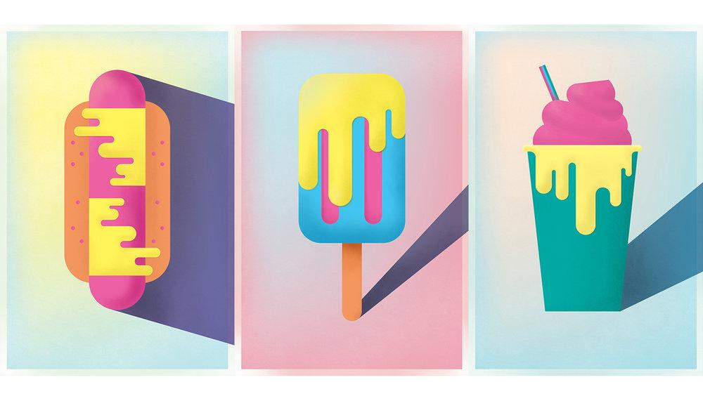 Summer Melt Posters