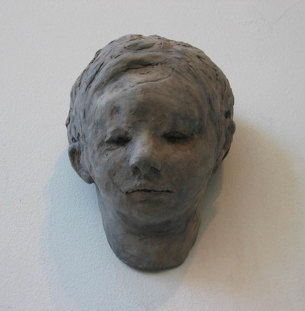 Boy , 6 x 4 x 4 inches, Ceramic - 2006